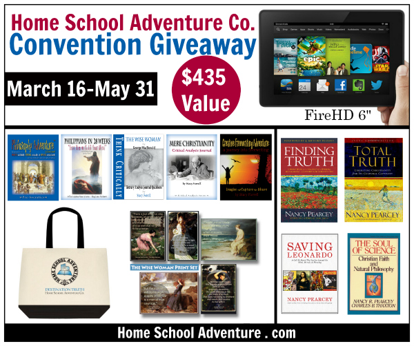 Home School Adventure Convention Giveaway