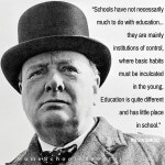 Winston Churchill on Education
