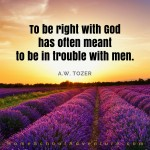 To be right with God