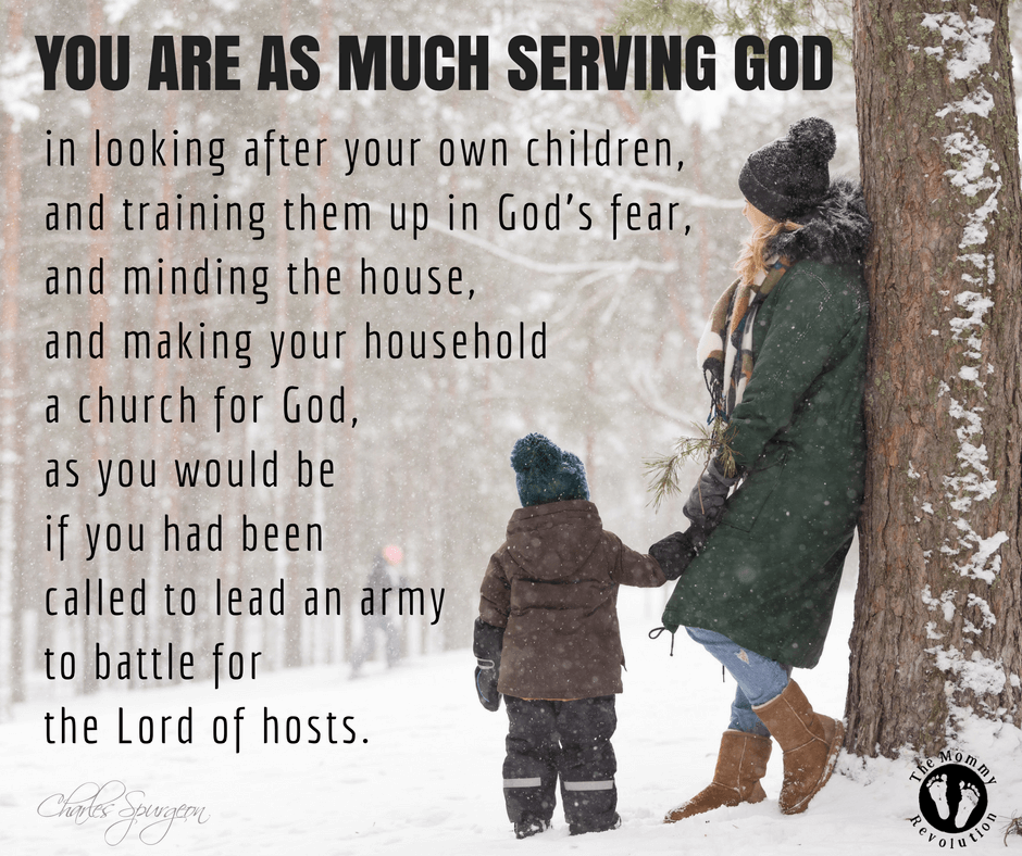 You are serving God.