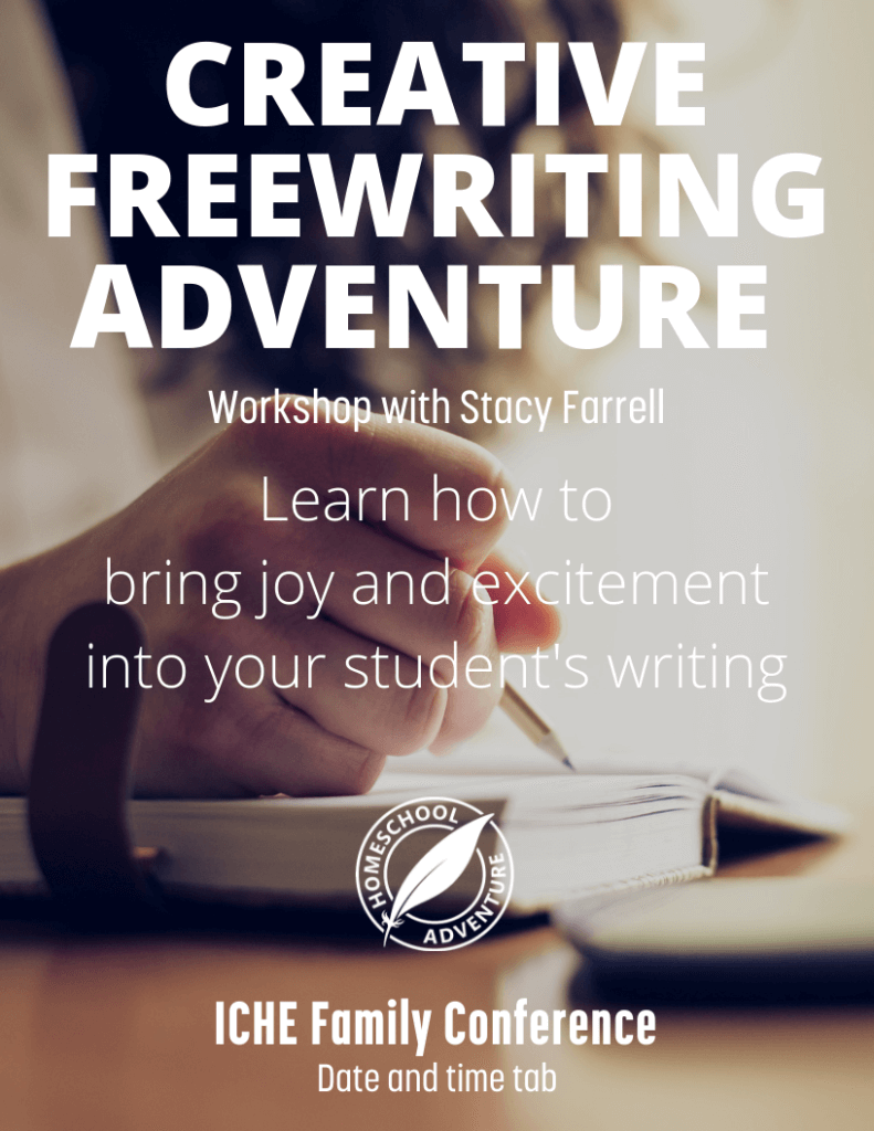Creative Freewriting Adventure Workshop at ICHE Family Conference